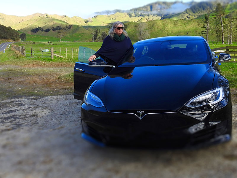 Eco Travels in our luxury Tesla electric cars