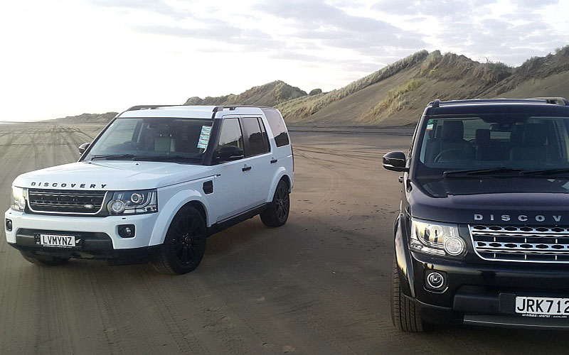 4WD driving on Auckland beaches
