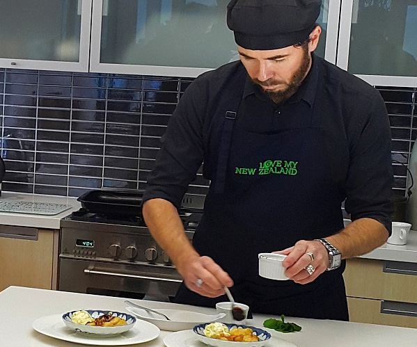 Top Private Chef Auckland Jonathan Lousich
