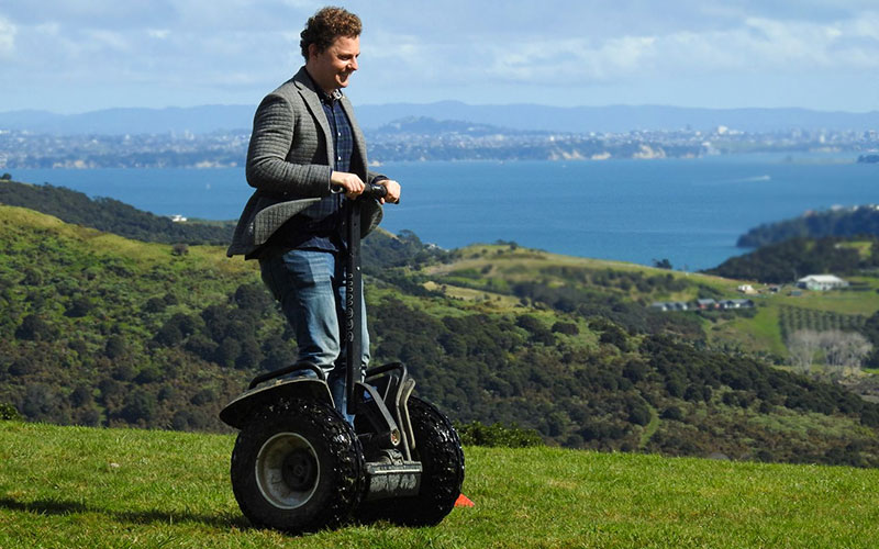 Eco Travels Waiheke Island Eco Segway
