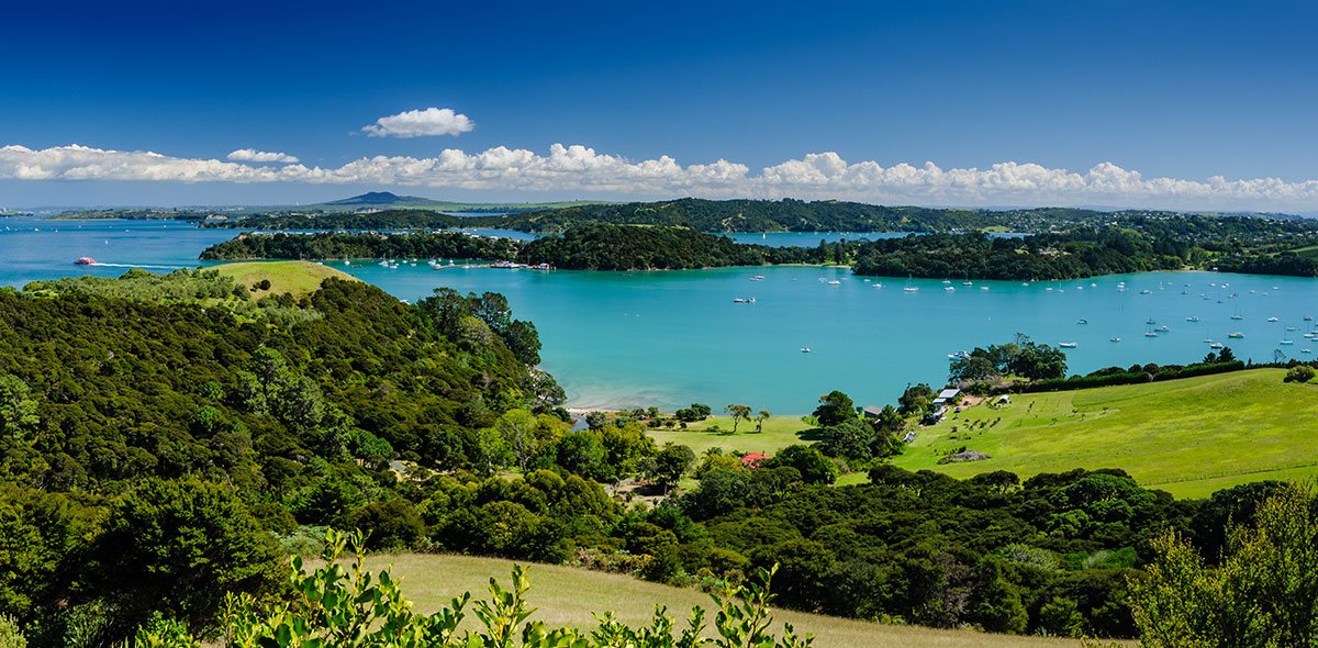 Enjoy stunning Waiheke Island views